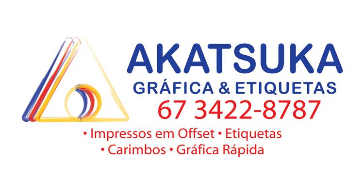 Logo Gráfica Akatsuka