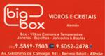 Logo Big Box Vidros e Cristais