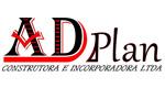Logo Adplan construtora e Incorporadora