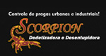Logo Scorpion Dedetizadora e Desentupidora
