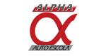 Logo Auto Escola Alpha