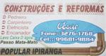 Logo Empreiteiro de Obras César