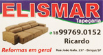 Logo Elismar Tapeçaria - Reformas