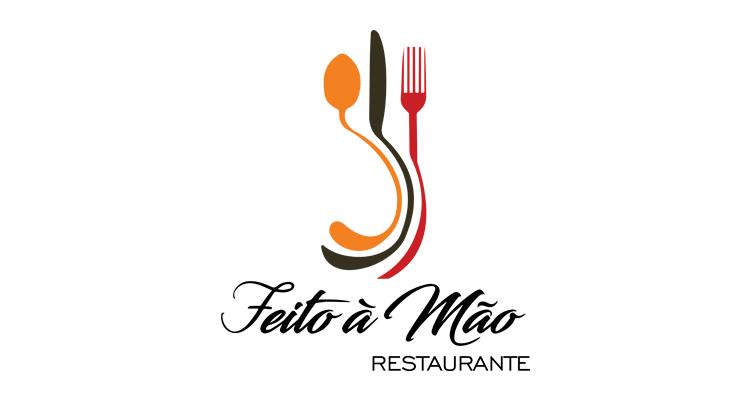 Logo Feito à Mão Restaurante