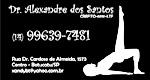 Logo Dr. Alexandre dos Santos - Fisioterapia
