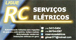 Logo RC - Serviços Elétricos