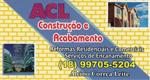Logo ACL Construção e Acabamentos