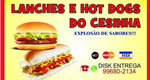 Logo Lanches e Hot Dogs do Cesinha