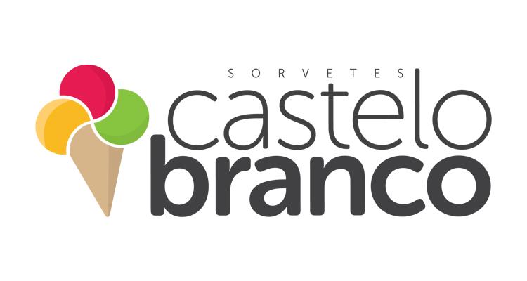 Logo Sorveteria Castelo Branco