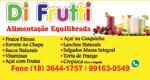 Logo Di Frutti Alimentação Equilibrada