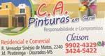 Logo C.A Pinturas