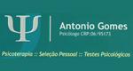 Logo Psicólogo Antonio Gomes  CRP:06/95173