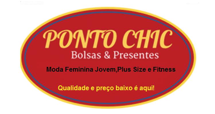 Logo Ponto Chic Bolsas e Confecções Feminina