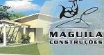Logo Maguila Construção