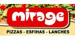 Logo Mirage Pizzas Esfihas e Lanches