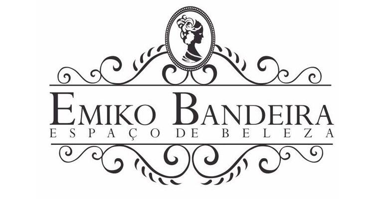 Logo Espaço de Beleza Emiko Bandeira