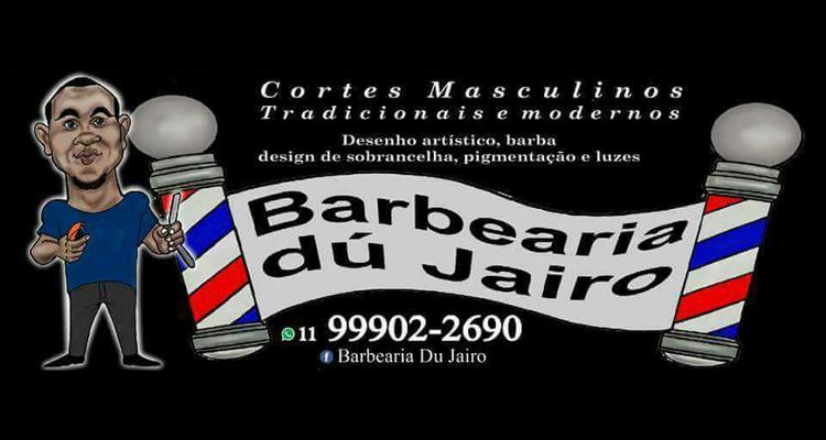 Logo Barbearia dú Jairo