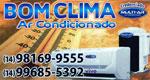 Logo Bom Clima Ar Condicionado