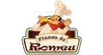 Logo Pizzas do Romeu