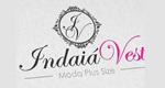 Logo Indaia Vest Plus Size