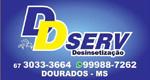 Logo DD Serv Desinsetização