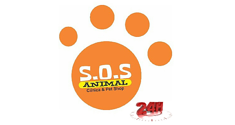 Logo Clínica e Pet Shop S.O.S Animal