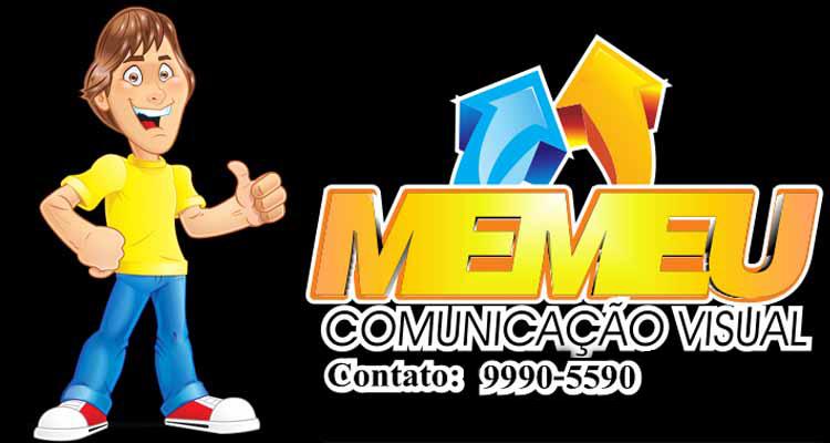 Logo Memeu Comunicação Visual