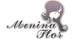 Logo Menina Flor Cabelo e Estética