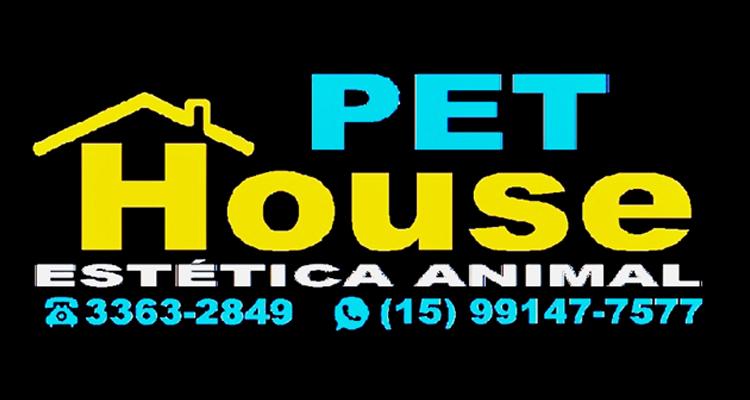 Logo Pet House Estética Animal