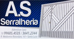 Logo A.S Serralheria