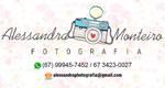 Logo Alessandra Monteiro Fotografias