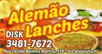 Logo Alemão Lanches