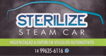 Logo Sterilize Steam Car
