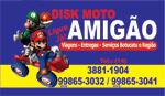 Logo Disk Moto Amigão