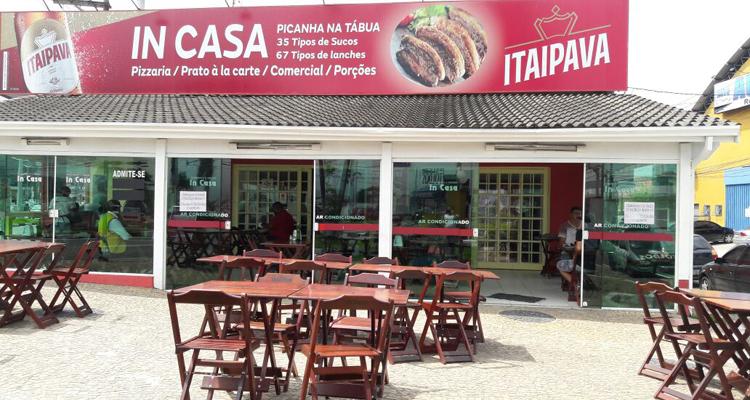 Logo In Casa Restaurante e Lanchonete Pizzaria - Unidade I