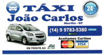 Logo Disk Táxi João Carlos