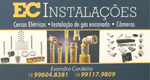 Logo EC Instalações