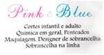 Logo Salão Pink e Blue