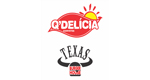 Logo Q'Delícia Sorvetes & Texas Burger House