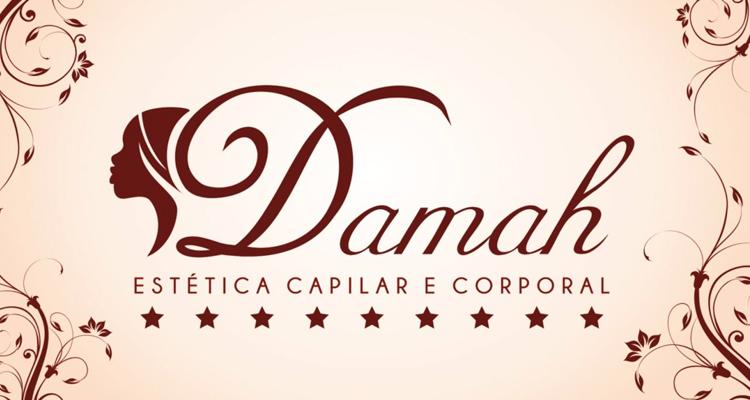 Logo Damah Estética Capilar e Corporal