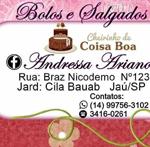 Logo Andressa Ariano Doces e Salgados