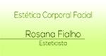Logo Rosana Fialho Estética Corporal e Facial