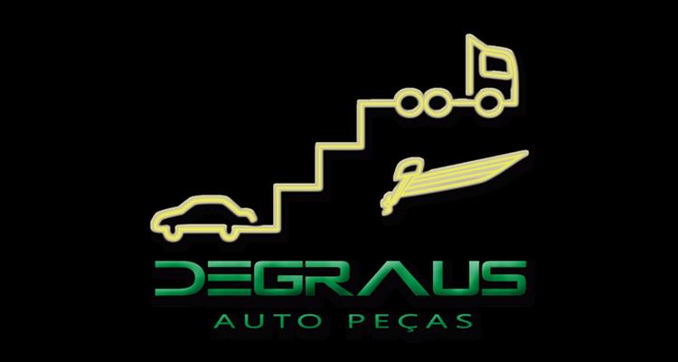 Logo Degraus Auto Peças Elétrica