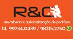Logo R&C Serralheria Artesanal
