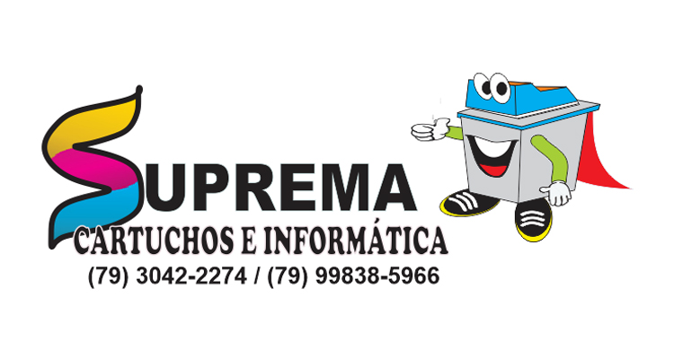 Logo Suprema Cartuchos e Serviços de Informática