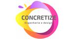 Logo Concretize Engenharia e Design de Interiores - Bruna Camargo