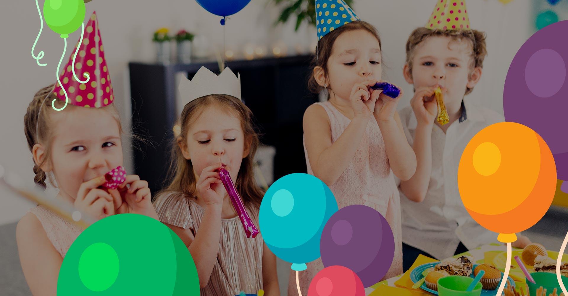 Balões, doces, decoração e muito mais você encontra na Eloy Festas!
