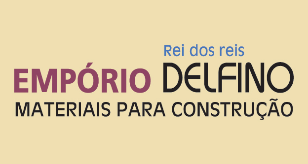Logo Empório Delfino Materiais para Construção em Geral