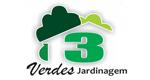 Logo Comércio e Jardinagem 3 Verdes