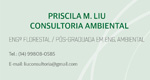 Logo Priscila Liu - Consultoria Ambiental
